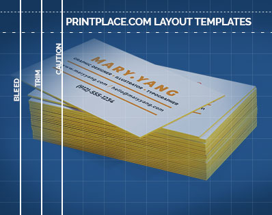 Painted Edge Business Cards templates thumbnail