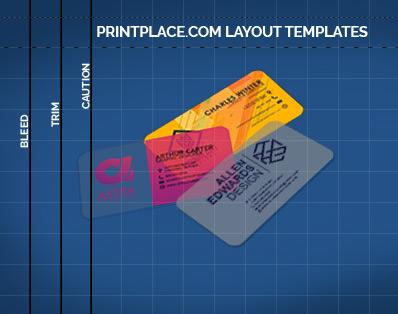 Plastic Business Cards templates thumbnail