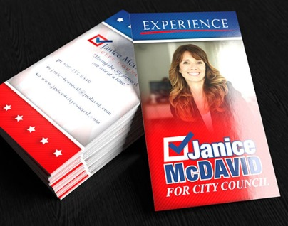 Political Business Cards Printing