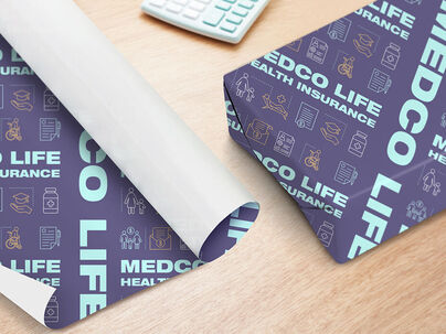 printed wrapping paper