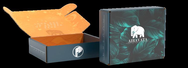 custom currogated box for branding