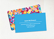 Colorful buisness card