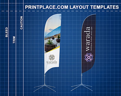 Feather Flags templates thumbnail