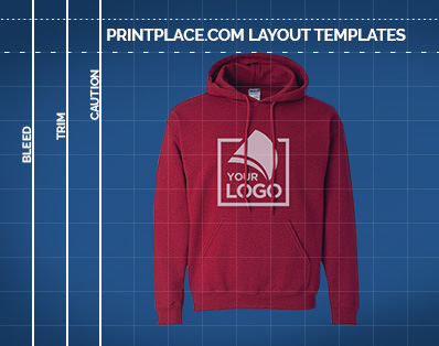 Gildan Adult Blend Hooded Sweatshirt templates thumbnail