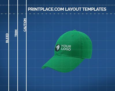 Lightweight Brushed Cotton Twill Cap templates thumbnail