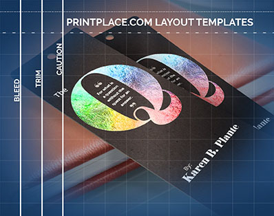 Metallic Bookmarks templates thumbnail