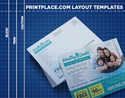 Postcards templates thumbnail