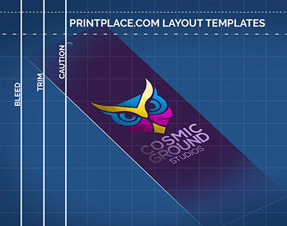 Foil Bookmarks templates thumbnail