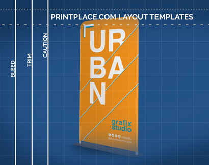 Tension Fabric Stand templates thumbnail
