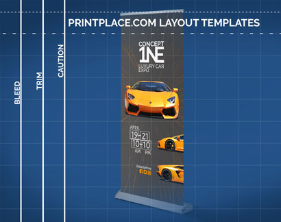Deluxe Retractable Banners templates thumbnail