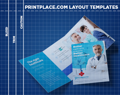 Trifold Postcards templates thumbnail