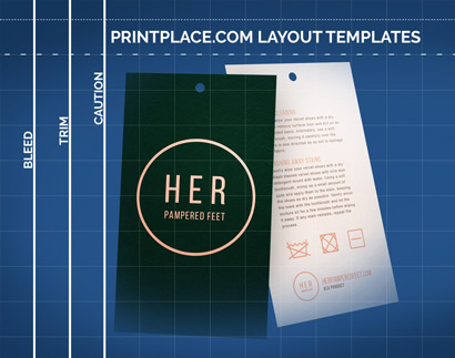 Velvet Soft Touch Hang Tags templates thumbnail