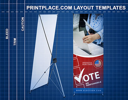 X Banner Stands templates thumbnail
