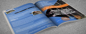 Image of open booklet, showing a two-page spread.