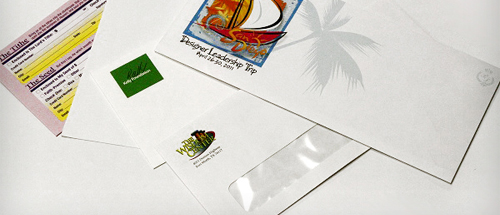 Image of various envelopes.