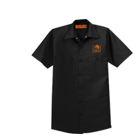 Men's Half Sleeve Industrial Work Shirt