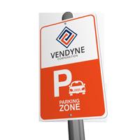 parking sign printing