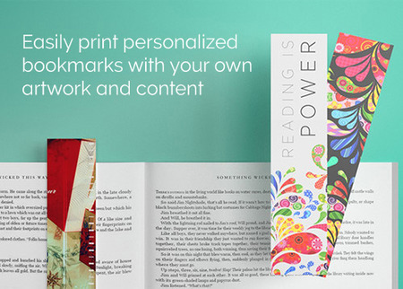 Personalized Bookmark Printing