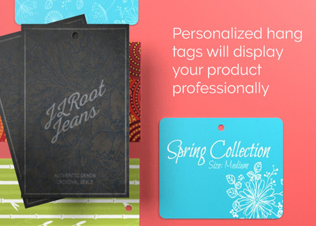 Print Clothing Hang Tags