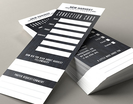 Custom Printed Connection Cards
