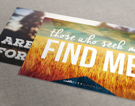 Print Custom Church Postcards