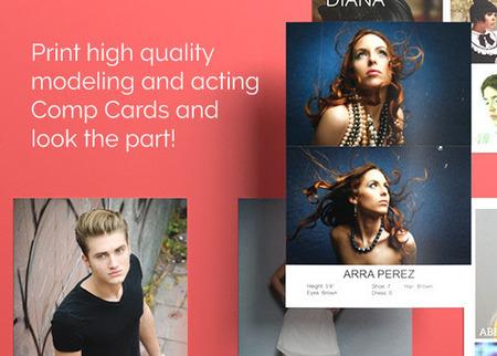 Print Model Composite Cards