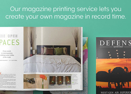 Personalized Consumer Magazine Printing