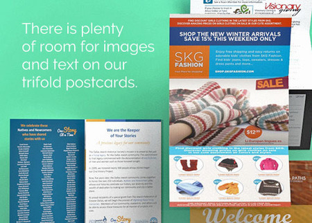Trifold Postcard Printing