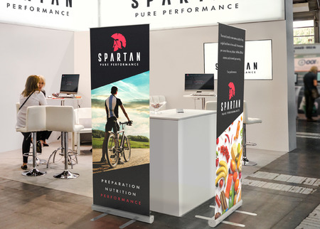 sample trade show booth display