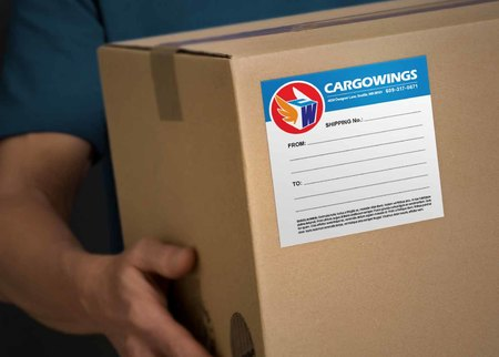 shipping labels for product packaging