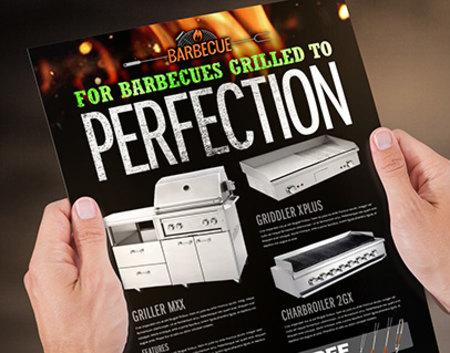 Metallic Sales Sheet Printing