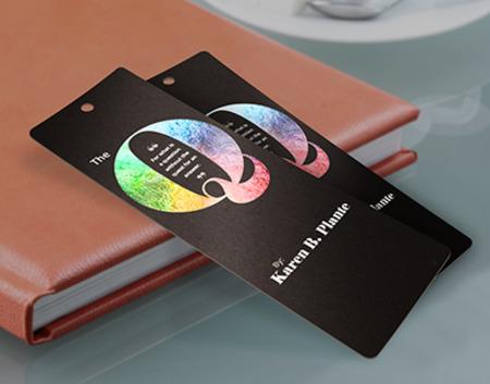 Metallic bookmarks Printing