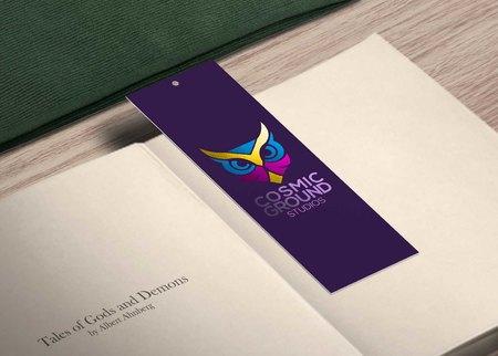 Foil bookmark printing
