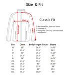 Jacket Sizes