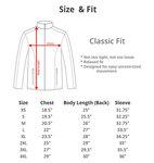 Ladies Jacket Sizes