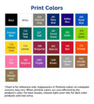 Grocery Tote Bags print colors